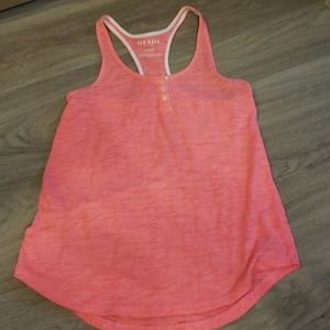 Old Navy Pink and White Tank
